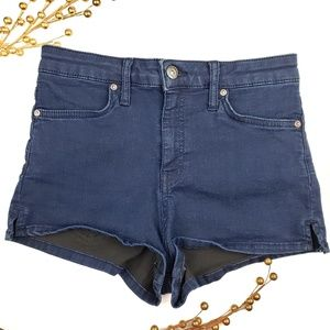 We the free navy jeans short sz 25